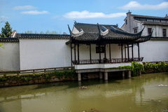 Suzhou dig Park Garden Waterside. Humble Administrator's Garden, was built in the early Ming Dynasty (early 16th century), is the representative works of royalty free stock photography