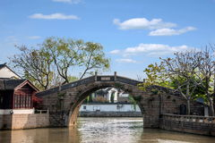 Suzhou Fengqiao. Maple Bridge is located in the southwest of Suzhou, only five or six years away from the city. North and South in this intersection, since royalty free stock images