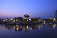 Suzhou garden Stock Image