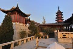 Suzhou Garden. Located at Suzhou Panmen Scenery Area Stock Photography