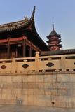 Suzhou Garden. Located at Suzhou Panmen Scenery Area Stock Photos