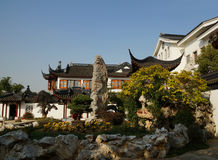 Suzhou traditional garden;Suzhou Gardens; Royalty Free Stock Image