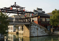 Suzhou traditional garden;Suzhou Gardens; Royalty Free Stock Images