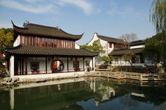 Suzhou traditional garden;Suzhou Gardens;. Suzhou garden is refers to the Chinese city of Suzhou landscape architecture, mainly private gardens began in the Stock Photo