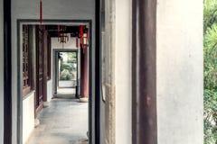 Suzhou garden, traditional architecture royalty free stock image