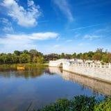 Suzhou gardens. The world-famous gardens in Suzhou, China-style park royalty free stock image