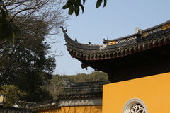 Suzhou gardens, Chinese architecture, temples, mountains, flowers, plum, plum, blossom Royalty Free Stock Image