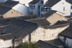 Suzhou-Gebäudehaus historisches Wallonien Stockfoto