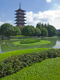 Suzhou Guta scenic Royalty Free Stock Images