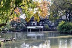 Suzhou humble administrator's garden Stock Images