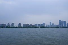 Suzhou Jinji jezioro fotografia stock