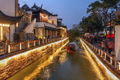 Suzhou Kina arkivbild