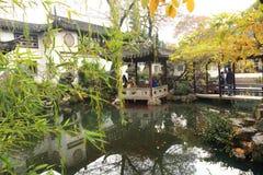 SuZhou liuyuan garden at autumn Royalty Free Stock Image