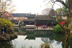 SuZhou liuyuan garden at autumn Stock Image