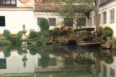 SuZhou liuyuan garden at autumn Royalty Free Stock Photos
