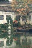 SuZhou liuyuan garden at autumn Royalty Free Stock Images