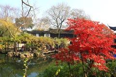 SuZhou liuyuan garden at autumn Stock Photography