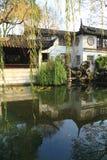 SuZhou liuyuan garden at autumn Royalty Free Stock Photography