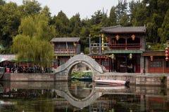 Suzhou Market Street Bridge - Summer Palace Royalty Free Stock Photo
