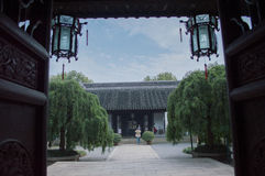 Suzhou museum av Taiping det himla- kungariket Arkivfoton
