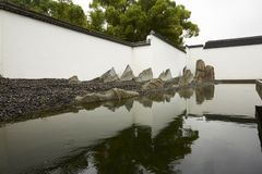Suzhou Museum. China Anhui style building Royalty Free Stock Photos