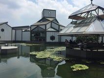 Suzhou museum fotografering för bildbyråer