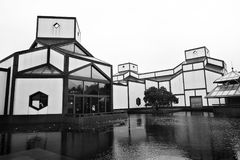 Suzhou Museum and reflection stock images
