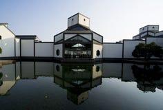 Suzhou museum. Chinese garden architecture royalty free stock photo