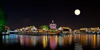 Suzhou at night, China stock images