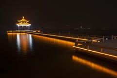 Suzhou at night Stock Photo