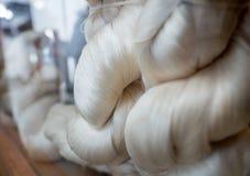 At Suzhou Number 1 Silk Factory, China royalty free stock image