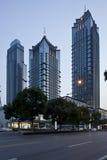 Suzhou Shangri-La Le Tusen dollar Stor hotell Arkivbilder