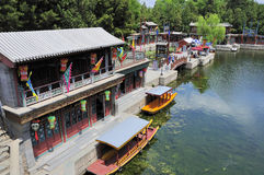 Suzhou street. Summer palace - suzhou street in beijing,China Stock Photography