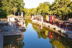 Suzhou Street of Summer Palace Stock Image