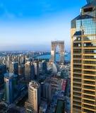Suzhou, suzhouindustrieterrein Royalty-vrije Stock Foto's