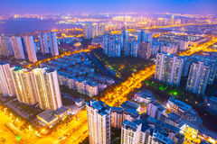 Suzhou, suzhouindustrieterrein Stock Foto's