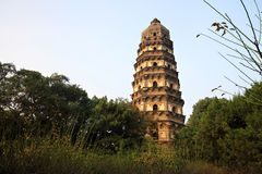 Suzhou Tiger Hill Images stock