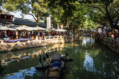 Suzhou Tongli ancient town Stock Photos