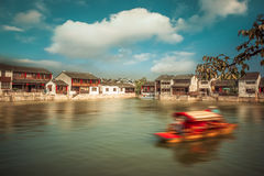Suzhou Tongli ancient town Royalty Free Stock Photo
