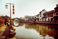 Suzhou Tongli ancient town Royalty Free Stock Images