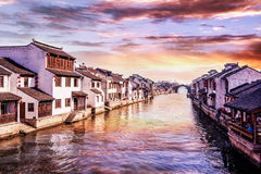 Suzhou Tongli ancient town. Suzhou Tongli town is located 18 km southeast of Suzhou, is one of the ancient town in Jiangsu province is currently the most Royalty Free Stock Image
