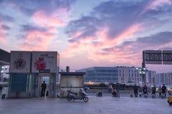 Suzhou train station Royalty Free Stock Images