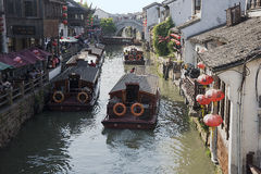 Suzhou, Venice of China Stock Image
