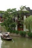Suzhou-Wasser-Strasse Lizenzfreies Stockfoto