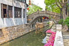 Suzhou water city, China Royalty Free Stock Images