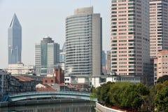 Suzhoukreek, Shanghai, China Royalty-vrije Stock Foto