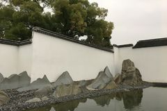 Suzhoumuseum in Oost-China Royalty-vrije Stock Foto