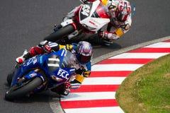 SUZUKA, JAPAN 29. Juli. Mitfahrer von F.C.C. TSR Honda Stockbilder