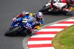 SUZUKA, JAPAN 29 Juli. Ruiter van F.C.C. TSR Honda Stock Foto