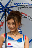 SUZUKA, JAPAN - July 29 : Unidentified Pit Babes Stock Image